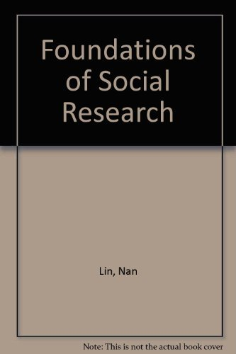 9780070378674: Foundations of Social Research