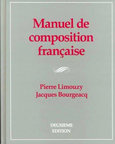 9780070379039: Manuel de Composition Francaise