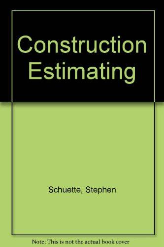 9780070379077: Construction Estimating
