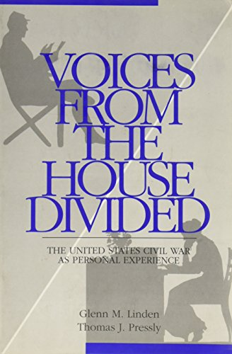 9780070379343: Voices From The House Divided: The American Civil War As Personal Experience