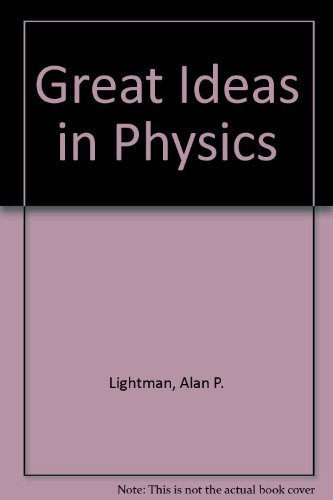 9780070379374: Great Ideas in Physics
