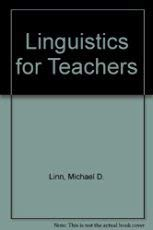 9780070379466: Linguistics for Teachers