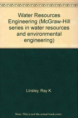 9780070379596: Water Resources Engineering (McGraw-Hill series in water resources and environmental engineering)