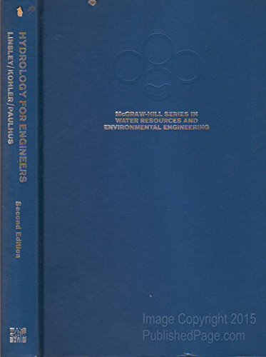 9780070379671: Hydrology for Engineers