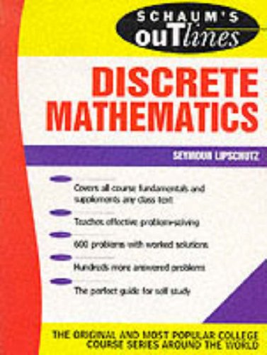 Theory & Problems of Discrete Mathematics,: Lipschutz, Seymour,