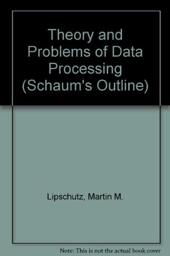 9780070379831: Theory and Problems of Data Processing (Schaum's Outline)