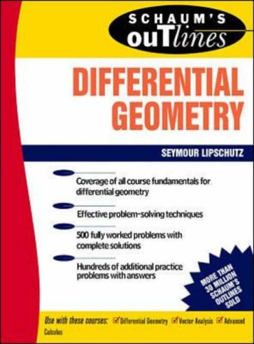 9780070379855: Schaum's Outline of Differential Geometry (Schaums' Outline Series)