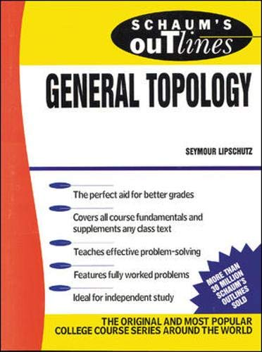 9780070379886: Schaum's Outline of General Topology
