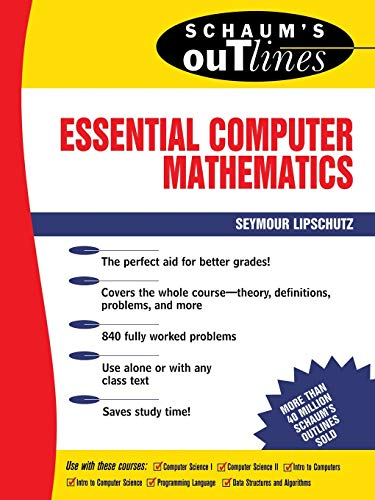 9780070379909: Schaum's Outline of Essential Computer Mathematics