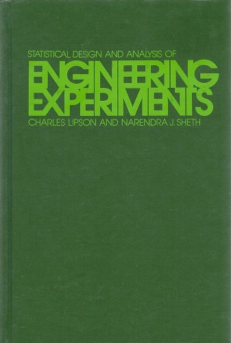 9780070379916: Statistical Design and Analysis of Engineering Experiments