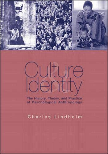 9780070379954: Culture and Identity: The History, Theory, and Practice of Psychological Anthropology