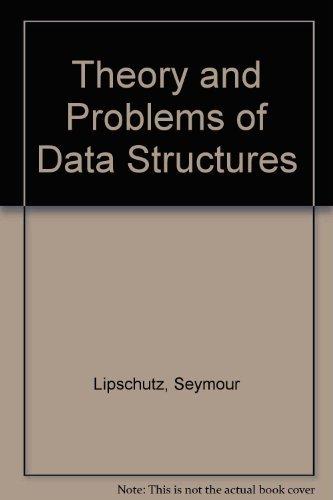 seymour lipschutz - data structures schaum's outline - AbeBooks