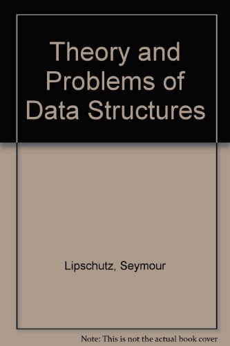 9780070380011: Schaum's Outline of Theory and Problems of Data Structures (Schaum's Outlines)