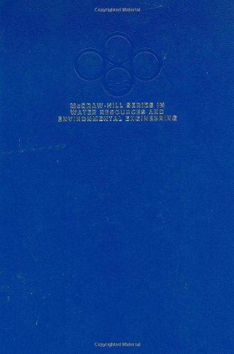 Water Resources Engineering (0070380104) by Linsley, Ray K; Franzini, Joseph B; Freyberg, David L; Tchobanoglous, George