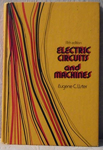 9780070380240: Electric Circuits and Machines