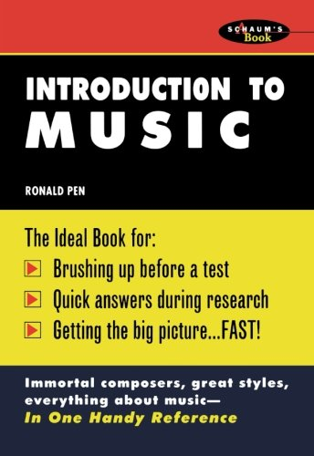 Introduction To Music: Ronald Pen