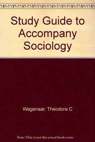 9780070380721: Study Guide to Accompany Sociology