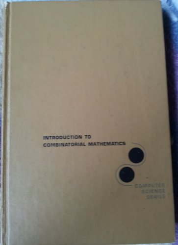 9780070381247: Introduction to Applied Combinatorial Mathematics