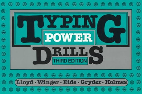 9780070381766: Typing Power Drills