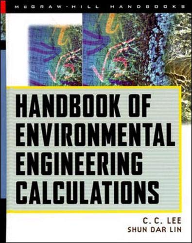 9780070381834: Handbook of Environmental Engineering Calculations (Mcgrawhill Engineering Handbook)