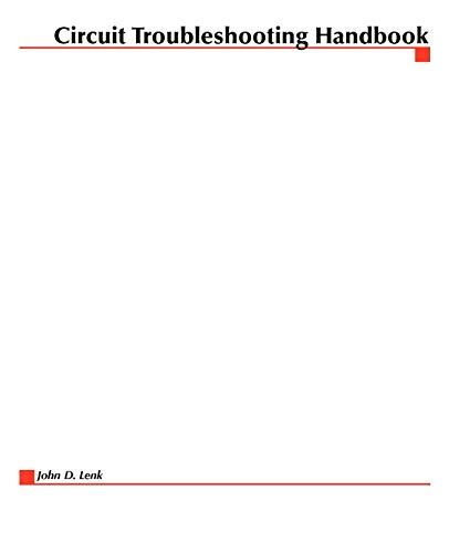 9780070381865: Circuit Troubleshooting Handbook (Software Development S)
