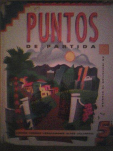 9780070382268: Puntos De Partida (Spanish Edition)