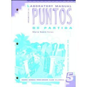 9780070382299: Puntos de Partida Lab Manual (English and Spanish Edition)