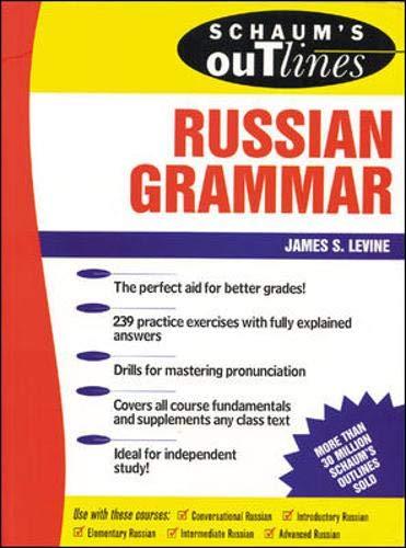 9780070382381: Schaum's Outline of Russian Grammar