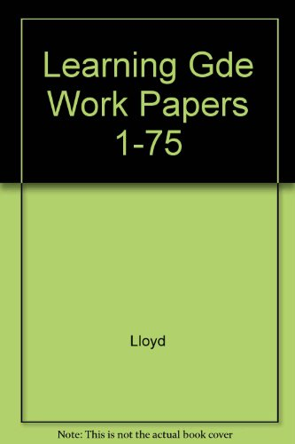 Gregg Typing for Colleges Working Papers 1-75: Rowe, John L.
