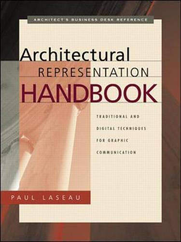 9780070383142: Architectural Representation Handbook: Traditional and Digital Techniques for Graphic Communication
