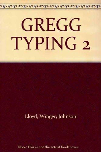 9780070383500: GREGG TYPING 2