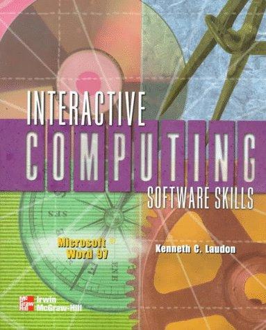 9780070384378: Interactive Computing Series: Microsoft Word 97