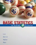 9780070385474: Basic Statistics for Business & Economics Fourth Canadian Edition