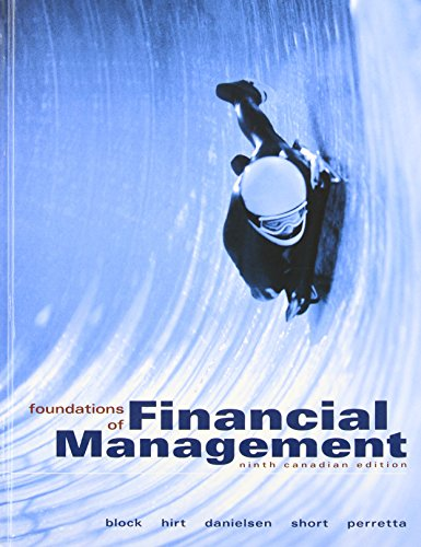 9780070385627: Foundations of Financial Management