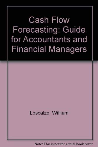 9780070387461: Cash Flow Forecasting: Guide for Accountants and Financial Managers