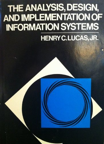 9780070389274: The analysis, design, and implementation of information systems (McGraw-Hill series in management information systems)