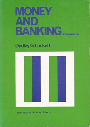9780070389564: Money and Banking