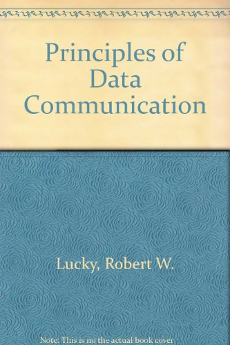 9780070389601: Principles of Data Communication