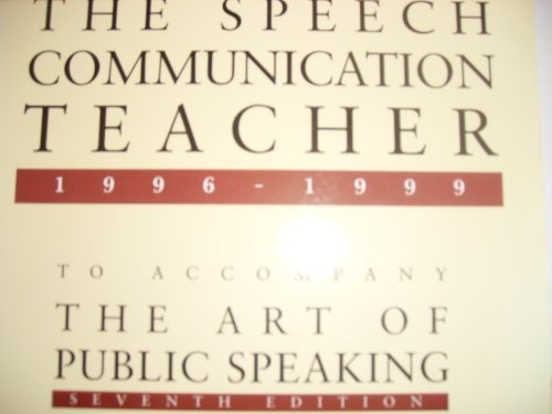 9780070389885: Selections from The Speech Communication Teacher 1986-1991 To Accompany The Art of Public Speaking