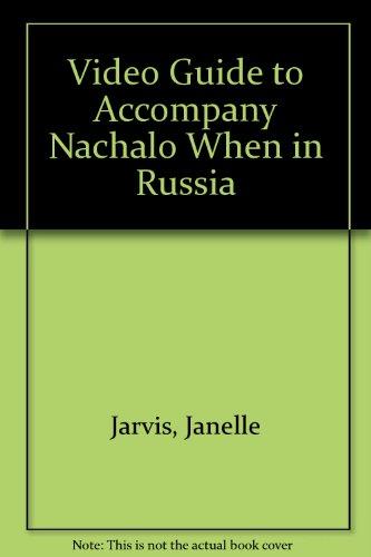 9780070390362: Video Guide to Accompany Nachalo When in Russia