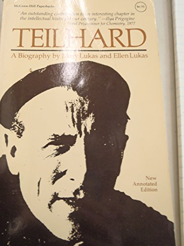 9780070390478: Teilhard (McGraw-Hill paperbacks)