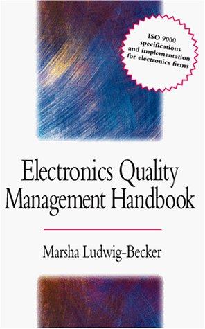 9780070390553: Electronics Quality Management Handbook