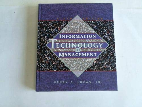 9780070390614: Information Technology for Management