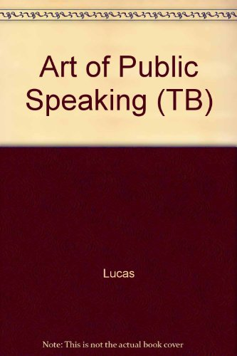 9780070390676: Art of Public Speaking (TB)