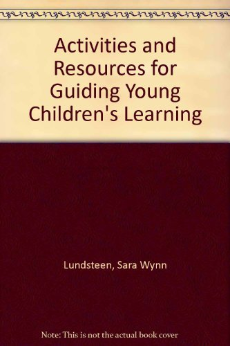 9780070391086: Activities and Resources for Guiding Young Children's Learning