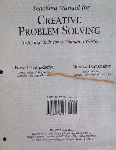 9780070391123: Ri Im/Ogt Creative Problem Solving