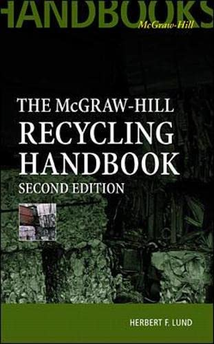 McGraw-Hill Recycling Handbook, 2nd Edition: Lund, Herbert F.