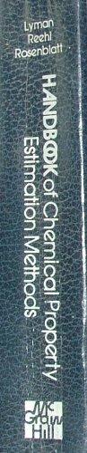 9780070391758: Handbook of Chemical Property Estimation Methods: Environmental Behaviour of Organic Compounds