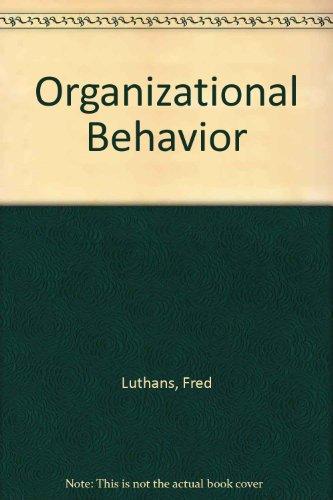 9780070391802: Organizational Behavior (McGraw-Hill series in management)