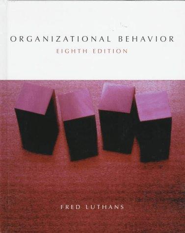 9780070391840: Organizational Behavior